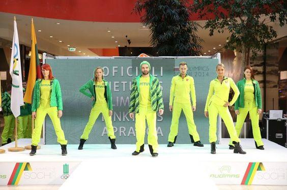 Sotchi 2014: tenues officielles Littuanie et d'autres à voir sur le lien suivant http://wp.me/p44N8G-3N