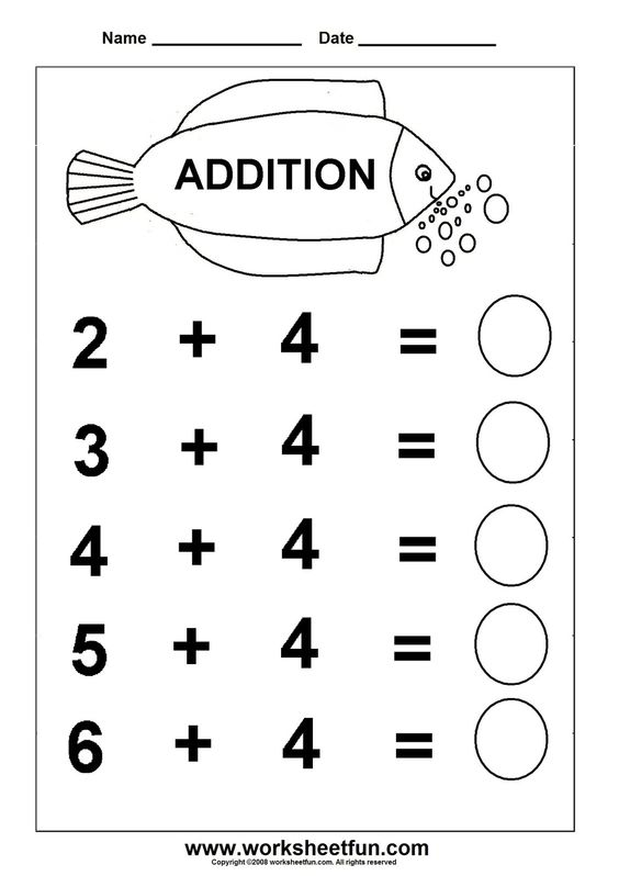 Number Names Worksheets worksheet for kindergarten english – English Kindergarten Worksheets