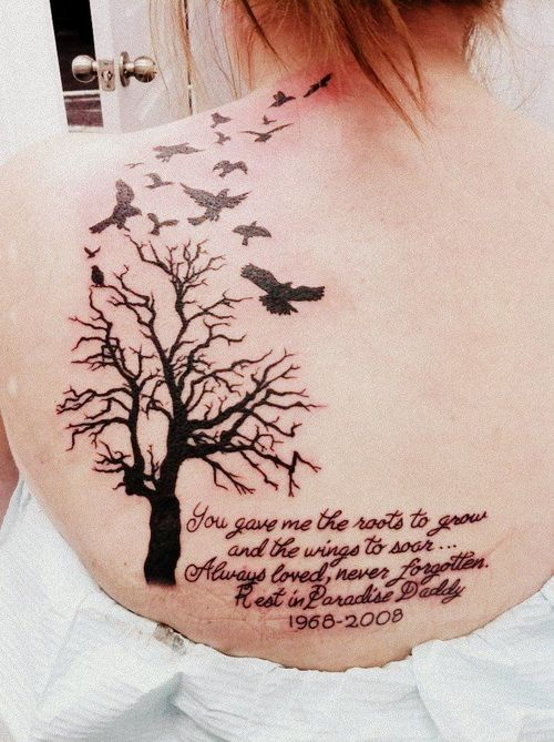 Memorial ideas ideas birds memorial tattoos paris tattoos and body art