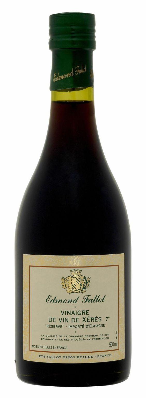 Giấm Rượu Xeres 7% Fallot - Chai 500ml