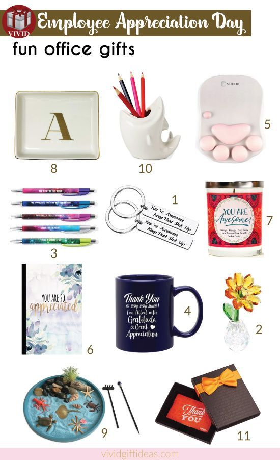 15 Fun Recognition Gifts For Employees Employee Gifts Recognition Gifts Staff Gifts