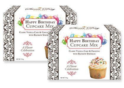 Happy Birthday Cupcake Mix Gift Set
