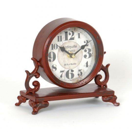 28 Rue Murillo Paris Metal Tabletop Clock Tabletop Clocks Clock Large Digital Wall Clock