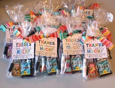 Thank you gifts for labor and delivery nurses - love this idea!! My L&D nurses spent WAY more time with me than my doctor!
