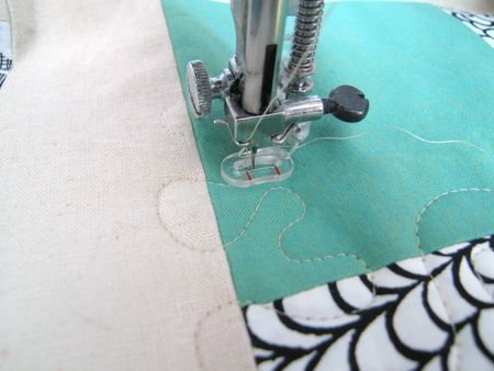 quilting with a standard machine