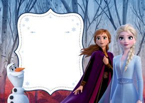 frozen 2 anna elsa olaf birthday
