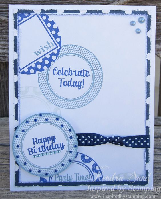 Inspired by Stamping Cute Circles Stamp Set