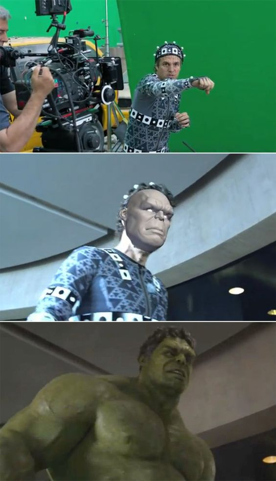 Movies Before After Green Screen Cgi Avengers 3 Film