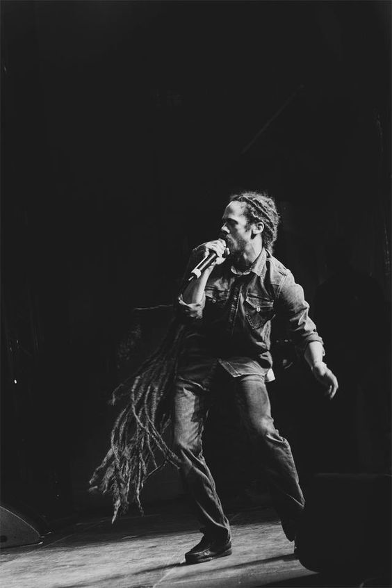 Damian Marley... What an amazing shot