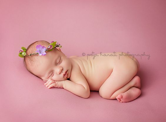 Newborn photography bump up