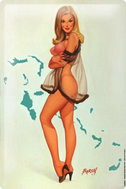 Blondes pinups galleries retro vintage