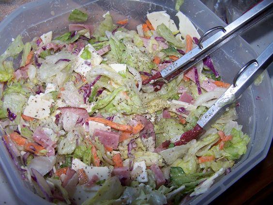 Hoagie Salad!!!
