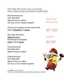 minions lyrics for kids - Minions Christmas Song
