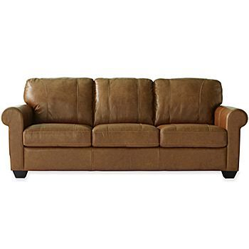 Possibilities sleeper sofa from jc penney leather den for Sectional sofas jcpenney