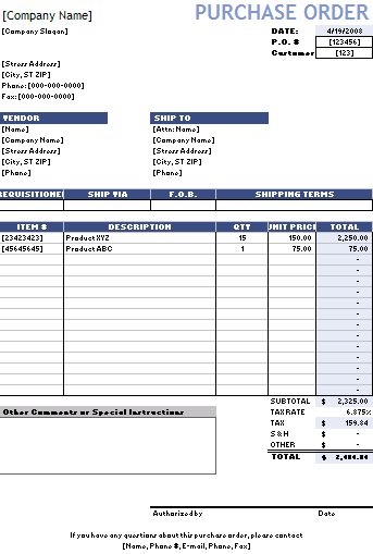Printable order form order invoice direct sales planner business - order invoices online