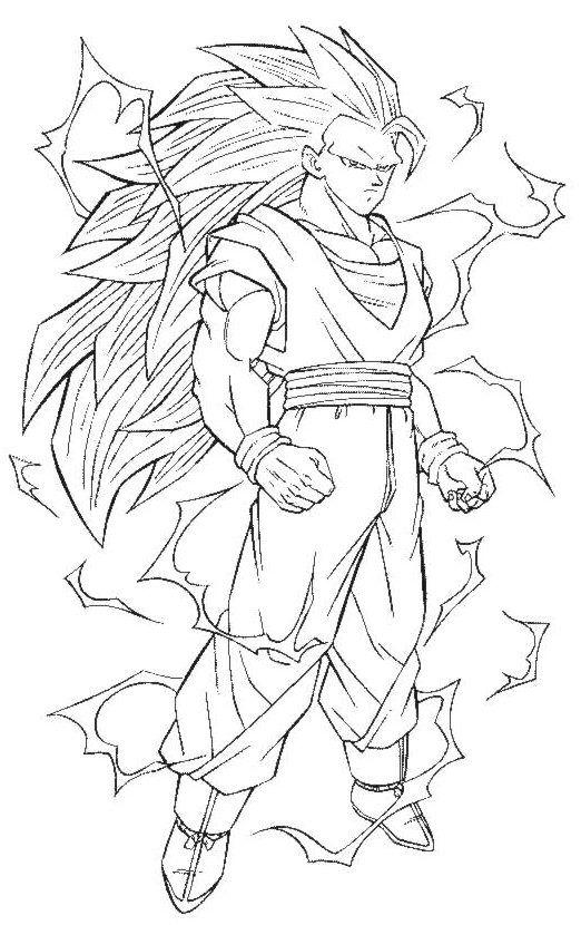 Dragon Ball Z Imagenes Para Colorear Dibujos De Dragon Como