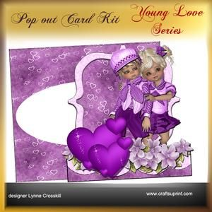 Young Love Series - POP OUT - Sweet Love