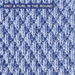 Intermediate Knitting Combining Knit And Purl Stitches : Over 100 knitting stitch patterns that can be made using only knit and purl s...