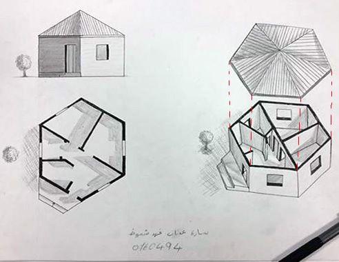 Sara Adnan Shammoutالرسم والاظهار المعماري (Arch. Drawing & Representation:
