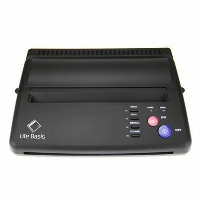 LifeBasis Machine de Transfert de Pochoir Copieur Thermique à Papier de Tatouage - Copieuse Imprimante Noire pour Tatouer - Achat / Vente copieur thermique LifeBasis Machine de Transfert - Cdiscount