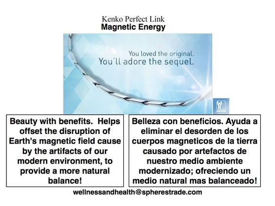 MAGNETIC MEDICINE brings balance to your body! ENERGIA MAGNETICA trae balance a su cuerpo!