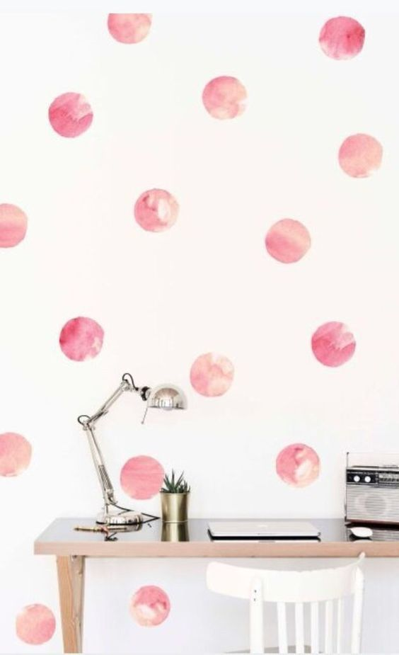 Watercolor Wall Add A Splash Of Color Wall Decals Watercolor