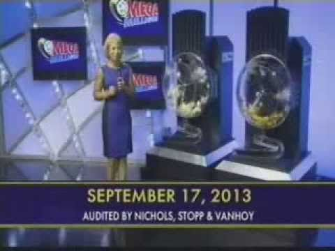 #MegaMillions #Results Winning Numbers 17 #September 2013