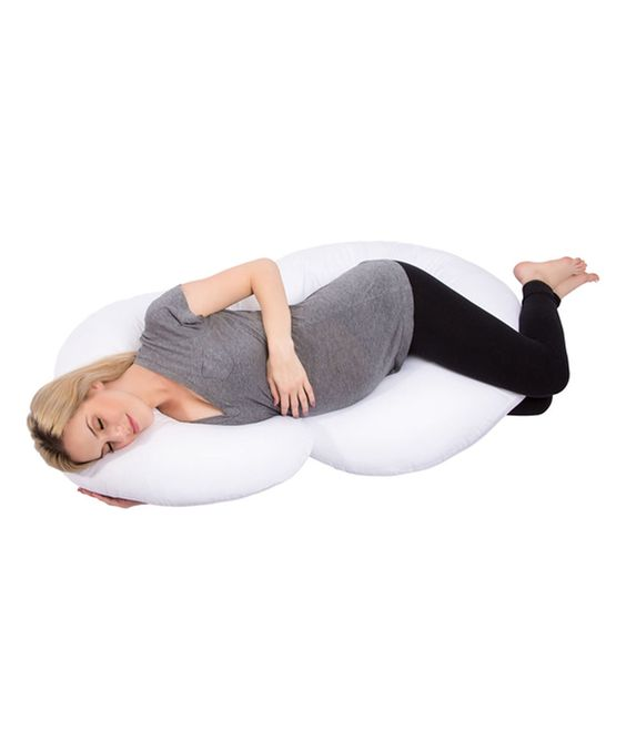 This Therapeutic Full Body Pregnancy Pillow by PharMeDoc is perfect! #zulilyfinds