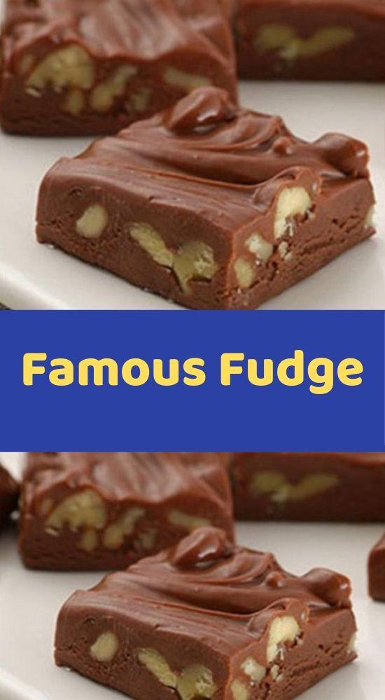 Famous Fudge Easy Chocolate Fudge Fudge Fudge Ingredients