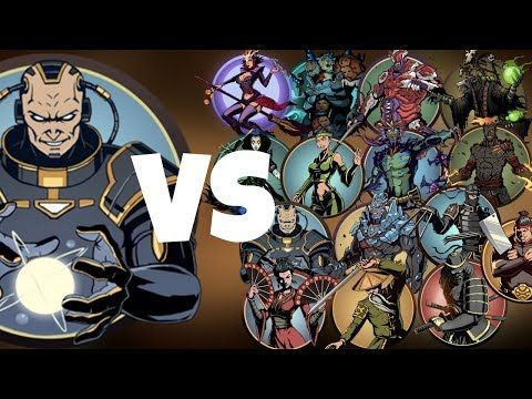 Shadow Fight 2 Titan Vs All Bosses Youtube Shadow Fight Titans