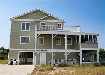 This lovely, charming home offers so much! Beautifully decorated and very close to the beach, you will enjoy your interlude! #currituck #obx #vacationhome