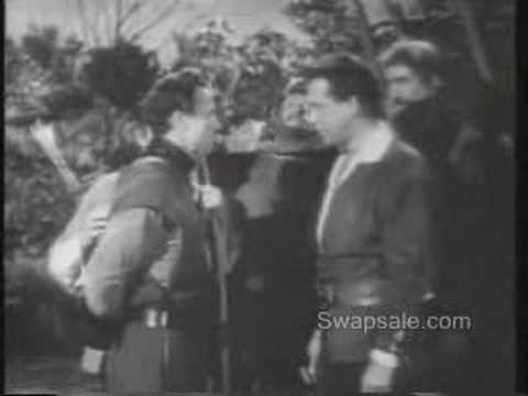Robin Hood with Richard Green on Saturday mornings 1958 ish  My first heart throb--Richard Green