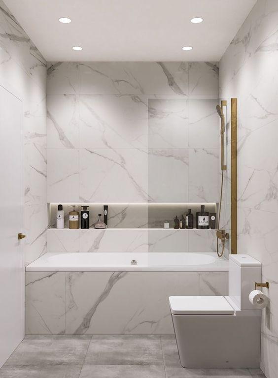 Bathroom Marble Ideas For Luxurious Effect Modern Bathroom