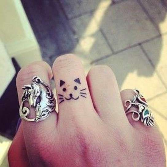 Tatuajes de gatos: Fotos de algunos diseños (12/41) | Ellahoy