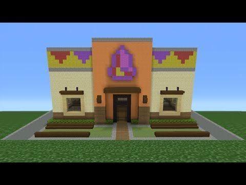 Pin By Katrina S On Video Games Minecraft Tutorial Minecraft Restaurant Cool Minecraft Creations