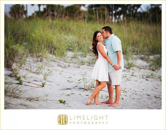 Limelight Photography, www.stepintothelimelight.com, Engagement, Fort Desoto, Florida, Photography, Beach, Blue, White