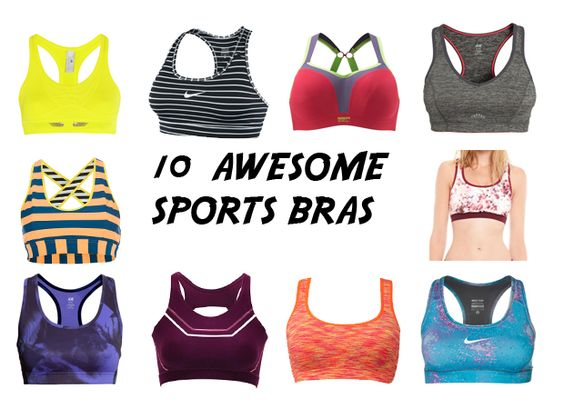10 Awesome Sports Bras | Workout Wear | Pinterest | Sport ...