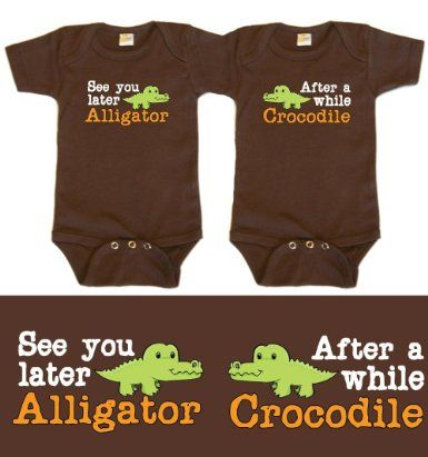 Amazon.com: Twin Boys Gift Set, Choose from Sizes 0-12 mo (Includes 2 Bodysuits): Clothing