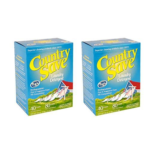 Country Save All Natural Laundry Detergent 5 Lb Box Pack Of 2