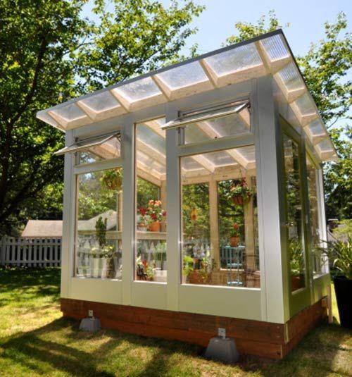 Modern Backyards: Modern Shed, Greenhouses And Sheds On Pinterest