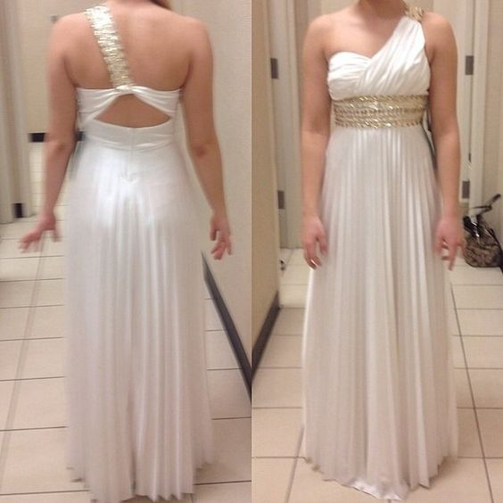 prom dress/evening gown size 3. very comfy. only worn once. minor discoloration: shown in last two pictures. super pretty, will send matching shoes size 8 if you'd like! Dresses
