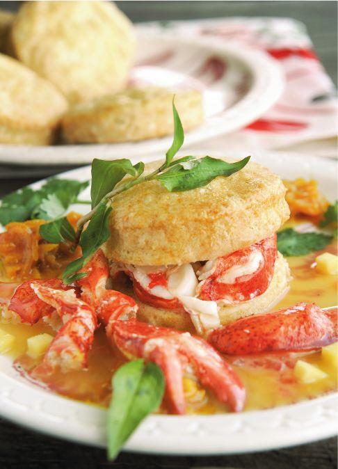 Stuffed Lobster Tails Newburg Recipe   Lobster House