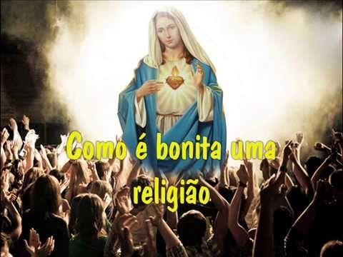 Hino Nossa Senhora De Fatima A Treze De Maio Arautos Do