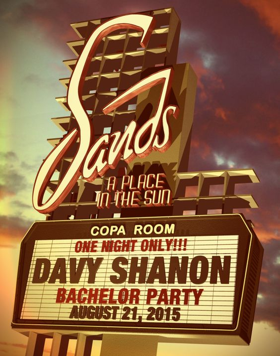 "New Personalized Retro Vegas Sands Image from Fiverr. 11"" x 14"" digital download #retro #lasvegas #vintage"