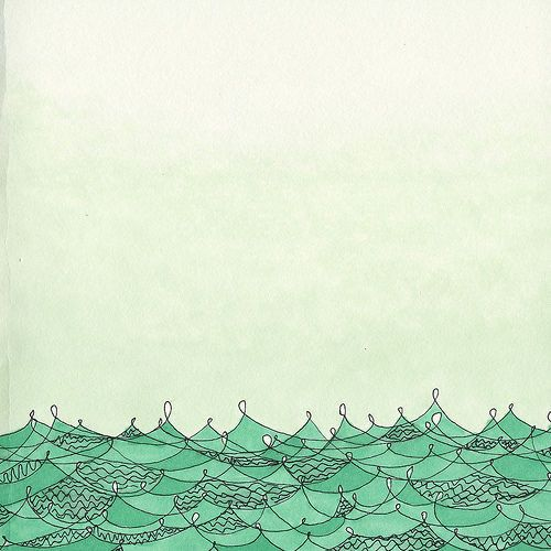 ocean,tumblr,ilustração,art,color,painting ...