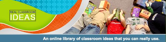 Real Classroom Ideas, an online library of classroom ideas