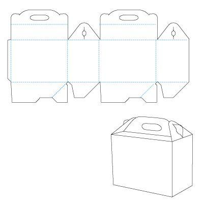 Molde para caja de regalo origami pinterest molde - Cajas para guardar juguetes ...