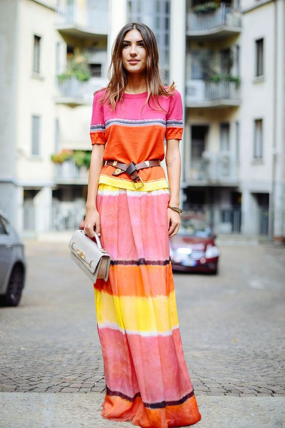 From citrus shades to bright greens to blazing blues, how to pull off bold colors with ease: