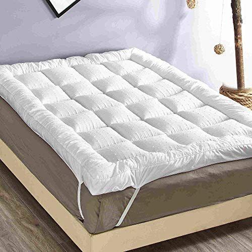 New Rejuvopedic Microfibre Bed Mattress Topper Protector Https