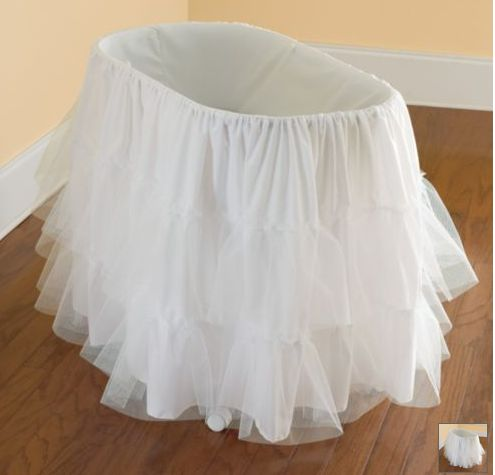 Bassinet Petticoats And Baby Cribs On Pinterest